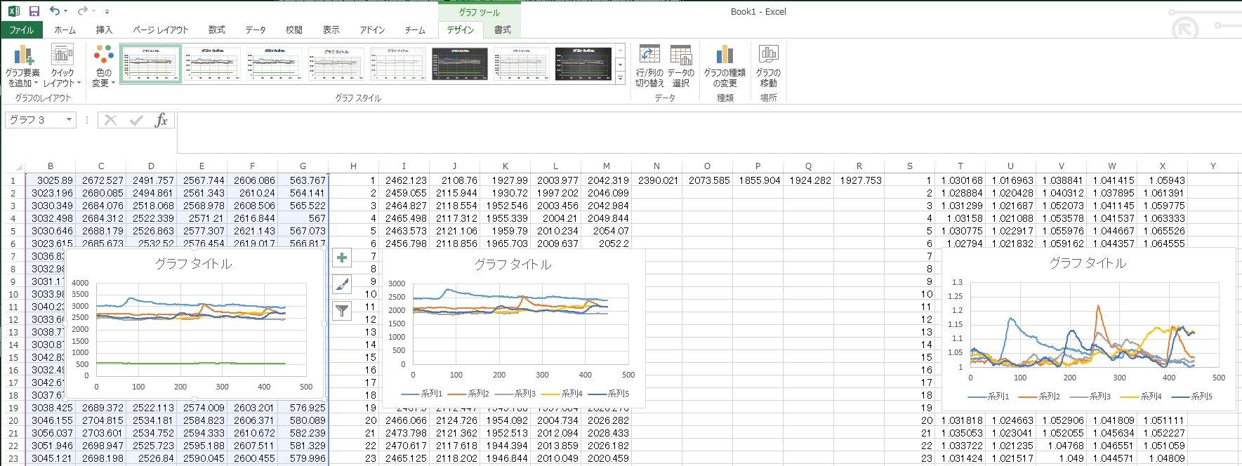 ExcelGraphs