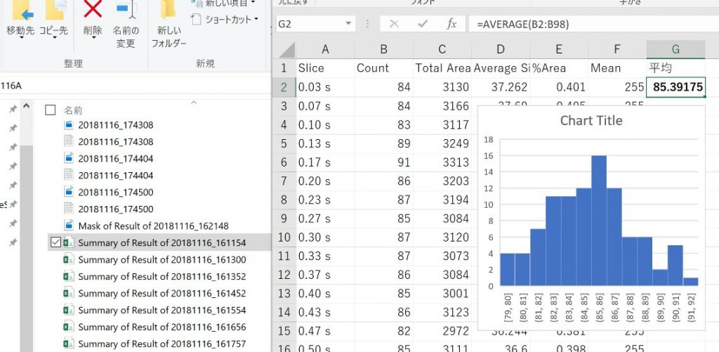 How to automate averaging paramecium counts in each csv file